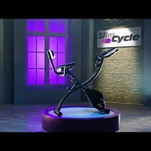 High Street Slim Cycle 2-in-1 Stationary Exercise Bike - 01269