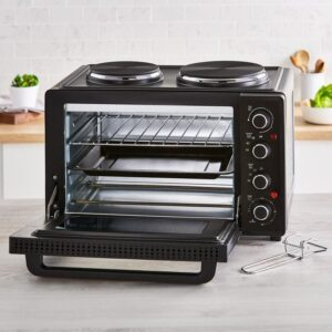 Tower 32L Mini Oven with Double Ovens – T14044