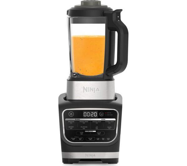 Ninja Food Blender & Soup Maker 1.7L 1000W - Black - HB150UK