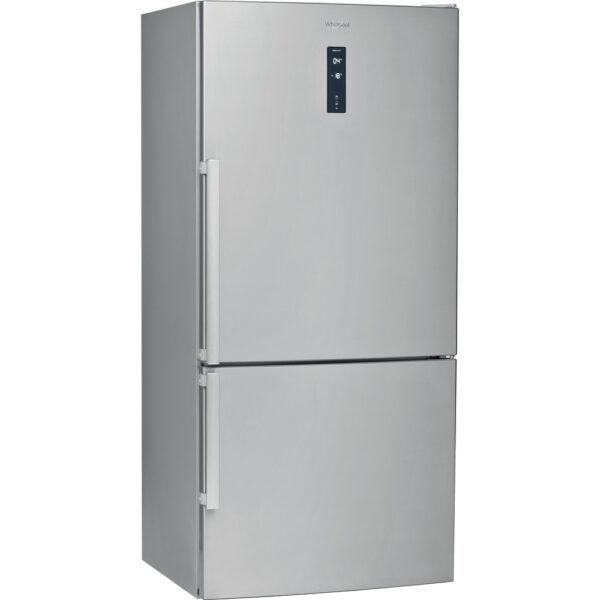 Whirlpool Fridge Freezer 84CM Frost Free St/Steel W84BE72XUK