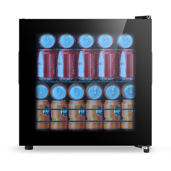 Belling Compact Table Top Glass door drinks fridge - BDC46BLK