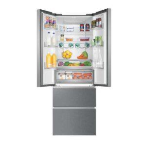 Haier Frost Free Freestanding American Fridge Freezer – Stainless Steel – HB20FPAAA