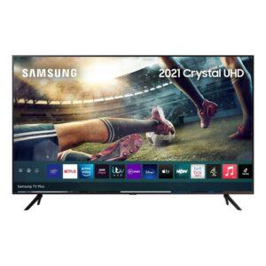 "Samsung Series 7 43"" 4K UHD HDR Smart TV , Titan Grey – UE43AU7100KXX"
