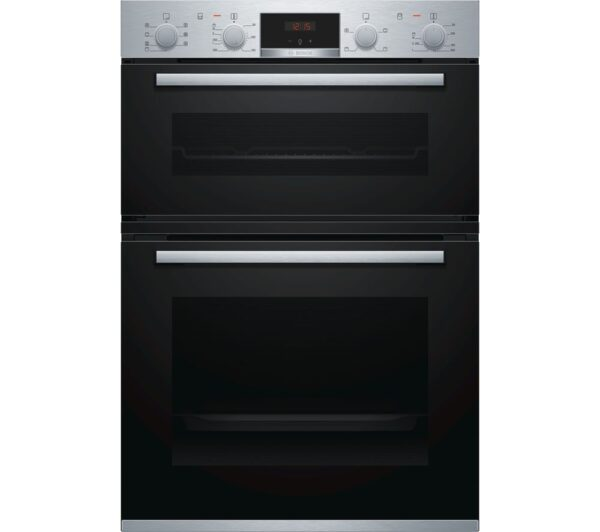 BOSCH Serie 4 MBS533BS0B Electric Double Oven – Stainless Steel