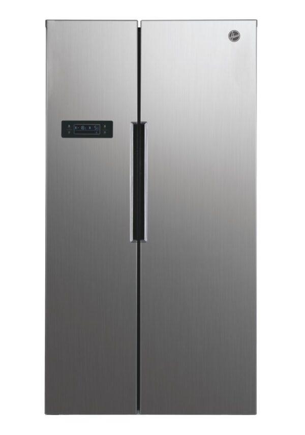 Hoover 521L No Frost, American Fridge Freezer 521L Silver - HHSBSO6174XK