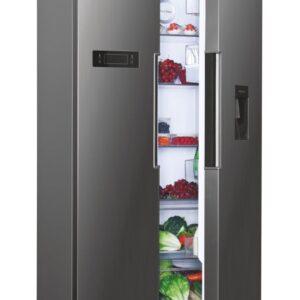 Hoover American Fridge Freezer - Silver - HHSBSO6174XWDK
