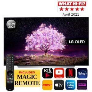"""LG C1 65"""" 4K Smart OLED TV - OLED65C16LA.AEK"""