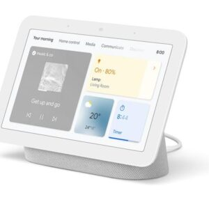 Google Nest Hub 2nd Gen with Google Assistant Chalk -GA01331-GB