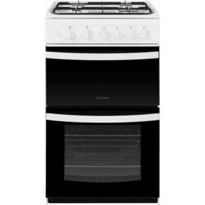 Indesit 50 cm Gas Cooker – White – ID5G00KMW