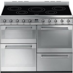 Smeg 110cm Symphony Range Cooker with Induction Hob Stainless Steel – SYD4110I