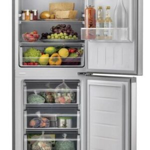 Hoover 54cm Low Frost Fridge Freezer – Stainless Steel – HMCL5172XIN