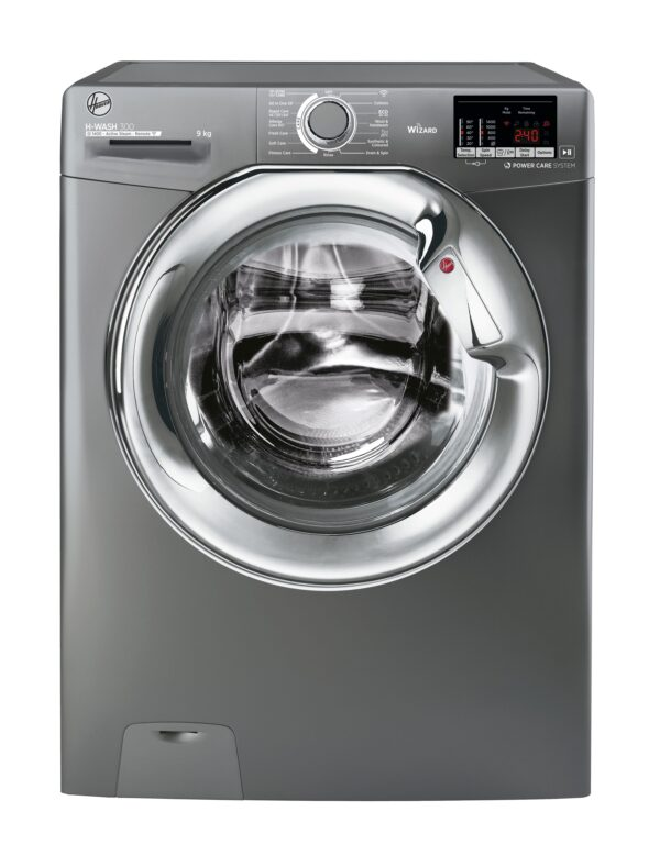 Hoover 9Kg Load 1400 Spin Washing Machine Graphite – H3WS495DACGE-80