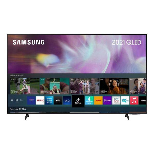 """Samsung Q60A 75"""" 4K Ultra HD QLED Smart TV - Black - QE75Q60AAUXXU"""