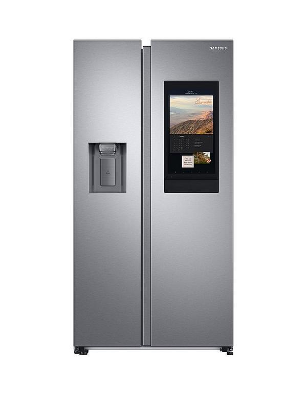 SAMSUNG RS6HA8891SL/EU American-Style Smart Fridge Freezer – Aluminium RS6HA8891SL/EU
