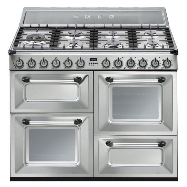 Smeg Victoria 110CM Duel Fuel Range Cooker Stainless Steel – TR4110X-1