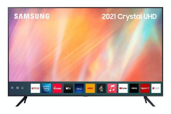"Samsung AU7100 85"" 4K Ultra HD HDR LED Smart TV - UE85AU7100KXXU"