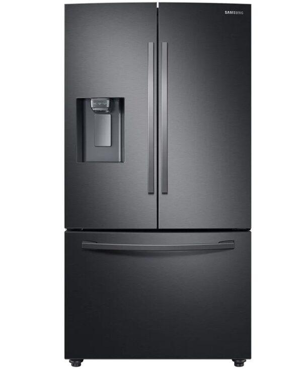 Samsung French Style Fridge Freezer with Twin Cooling Plu - Black - RF23R62E3B1/EU