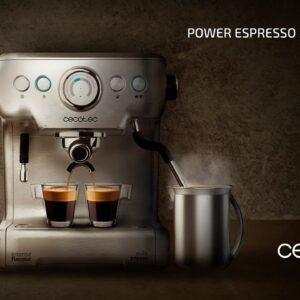 Cecotec Power Espresso 20 Barista Pro Espresso Machine 2900 W Stainless Steel – 01577