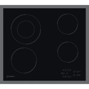 Indesit 58cm Touch Control 4 Zone Ceramic Hob - RI261X