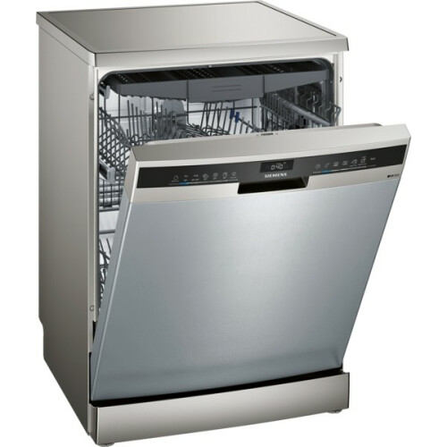 Siemens iQ300 Free-Standing Dishwasher 60 cm Stainless Steel Lacquered - SN23HI60CE