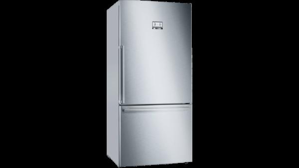Bosch Serie 6 631L Free-Standing Fridge Freezer - Stainless Steel - KGB86AIFP