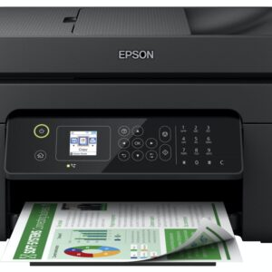 Epson Compact Wireless 4-In-1 Inkjet Printer Black - WF2830DWF
