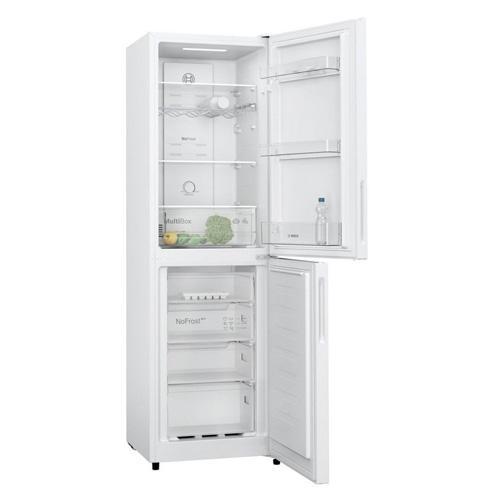 Bosch Serie 2 Freestanding Fridge Freezer White – KGN27NWFAG