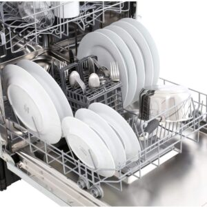Hoover Full-size Fully Integrated NFC Dishwasher – HDI1LO38S-80/T