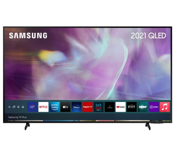 """Samsung 43"""" 4K Ultra HD HDR QLED Smart TV (2021) - QE43Q60AAUXXU"""