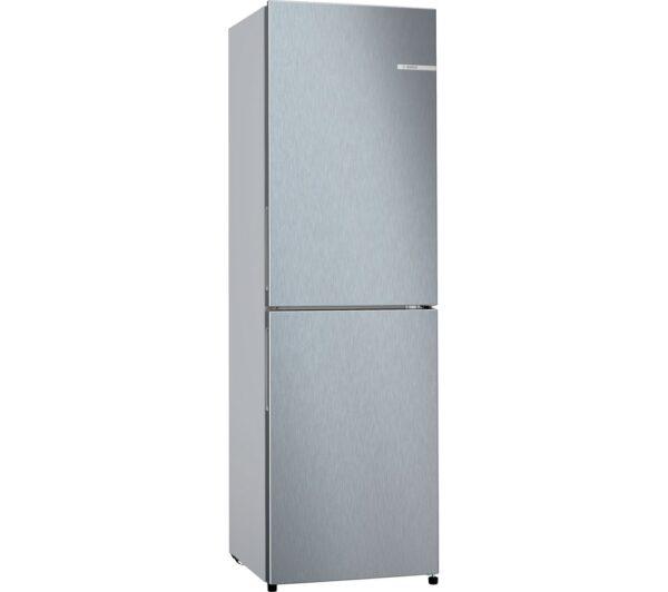 Bosch Frost Free Fridge Freezer 183 x 55cm Inox – KGN27NLFAG