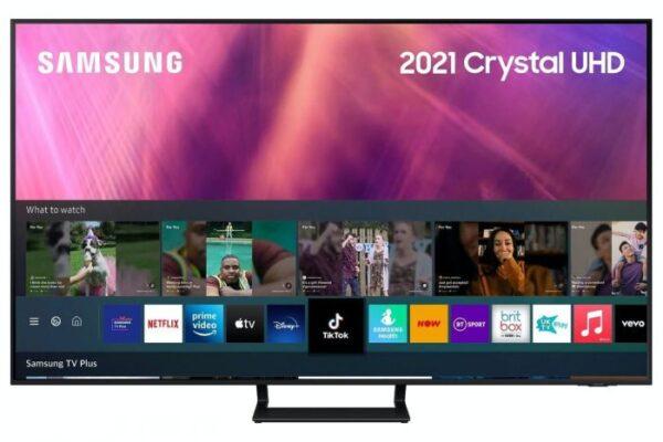 Samsung 65″ 4K UHD LED Smart TV (2021) - UE65AU9070UXXU